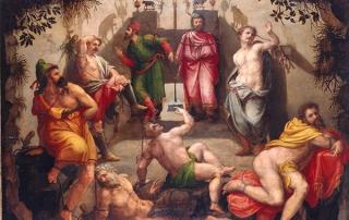 Michiel Coxcie: De grot van Plato